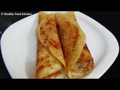 Crispy Chola Dosai Recipe-Jowar Dosa Recipe-Sorghum Dosa Recipe By Healthy Food Kitchen