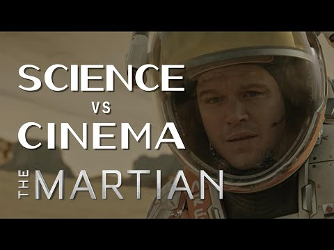 Science vs Cinema: THE MARTIAN