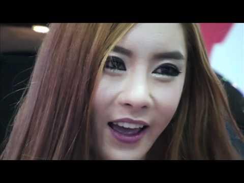 2012 seoul tuning show racing girl