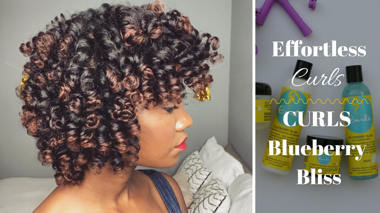 Effortless Curls Curls Blueberry Bliss Youtube