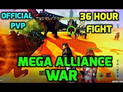 ARK: MEGA ALLIANCE WAR ON SERVER 44 - DEFENSE - SUPREMACY VS EXODUS, ANBU, STRAY CATS- OFFICIAL PVP