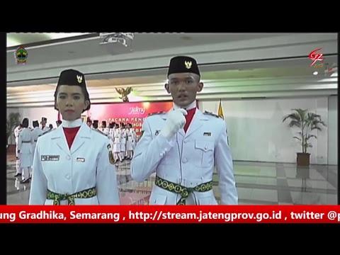 Testimoni Anggota PASKIBRAKA Provinsi Jawa Tengah , 15 Agustus 2017
