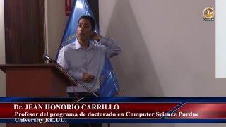 Tema: Conferencia en La Facultad de Ciencias Matemáticas del Dr. Jean Honorio Carrillo