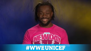 Celebrate UNICEF's World Children's Day with Kofi Kingston and WWE