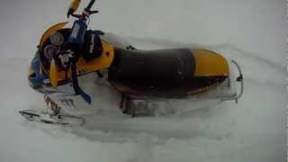 Ski-Doo Rev 600 Mod Burn Down