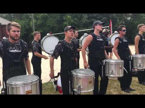 2016 Jacksonville State University Drumline Cadence - Linkin Parkin Lot