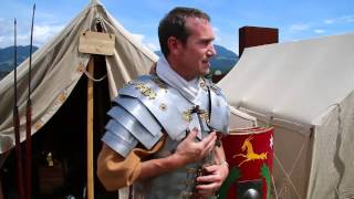 Das trug ein römischer Legionär