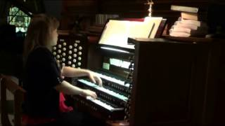 Vater unser im Himmelreich, from Clavierubung III, BMV 682,  JS Bach, Katelyn Emerson, organ