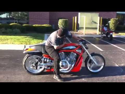 2006 VRXSE Screamin' Eagle® V-Rod® Destroyer - YouTube
