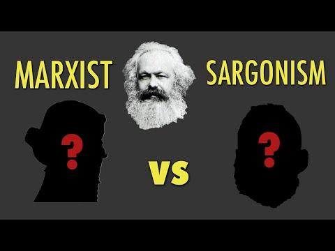 Marx vs Marxist Sargonism