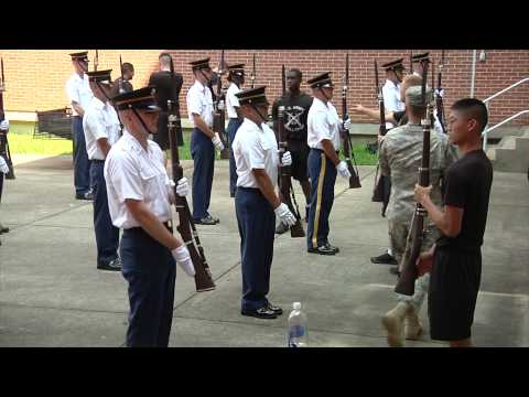 United States Army Drill Team Training Cycle