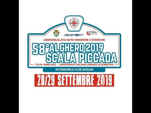 Cronoscalata Alghero Scala Piccada 2019, speciale TV
