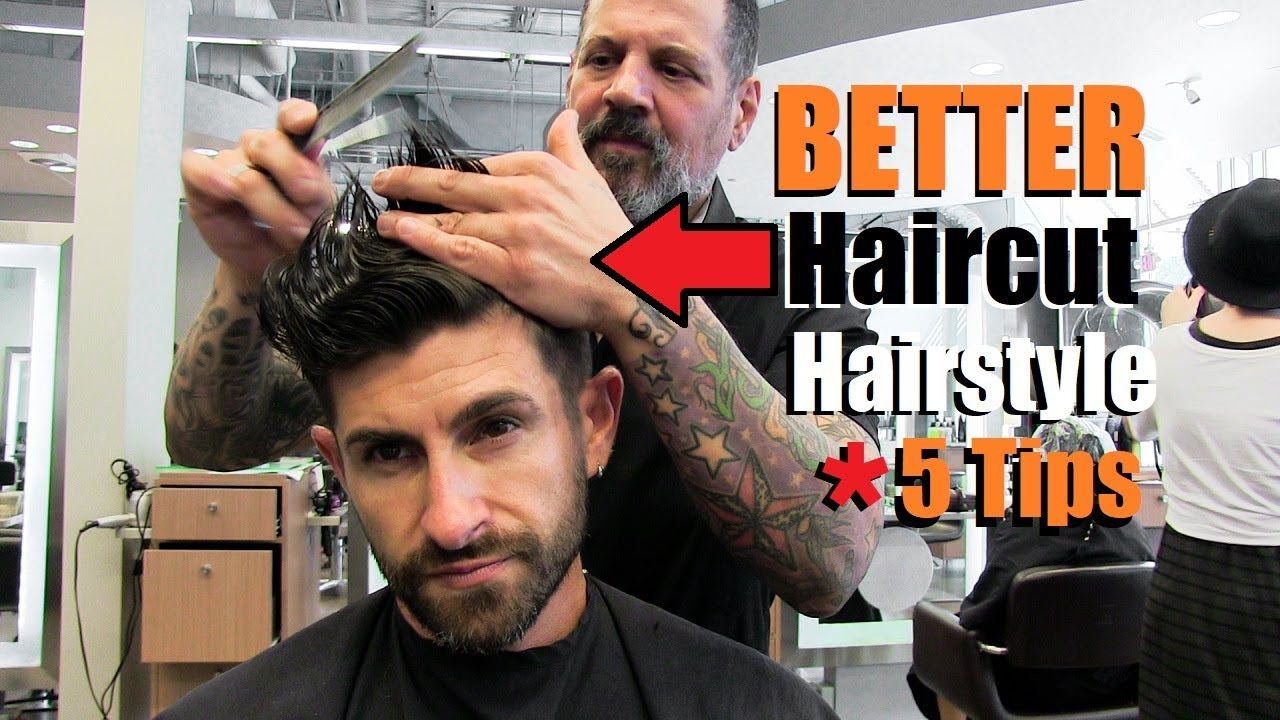 5 Tips To Get An Awesome Haircut Hairstyle From Your Barber A