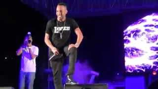 "Baby Cham - ""Ghetto Story"" - LIVE in Grenada @The Big Show (Q West)"