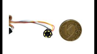 Самая маленькая цветная  Микрокамера 205c(Микрокамера 205C снимает ЦВЕТНОЕ видео со звуком с разрешением 600TVL (видно все в деталях). Купить http://z789.ru/link/1192..., 2015-10-04T08:43:24.000Z)