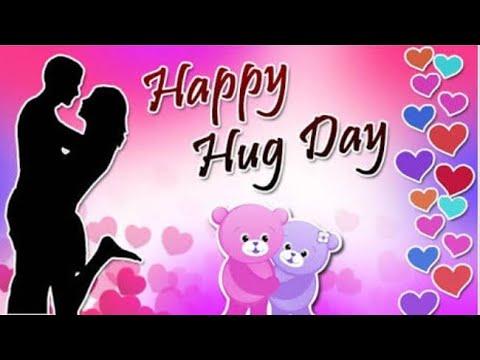 Hug Day Whatsapp Status Video Happy Hug Day Wishes Valentines Day