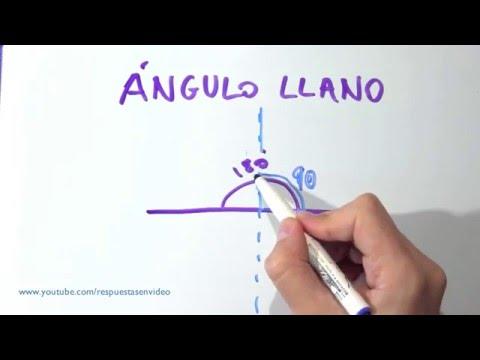 Qué es un ángulo llano - Cuál es, definición, dibujos y ejemplos