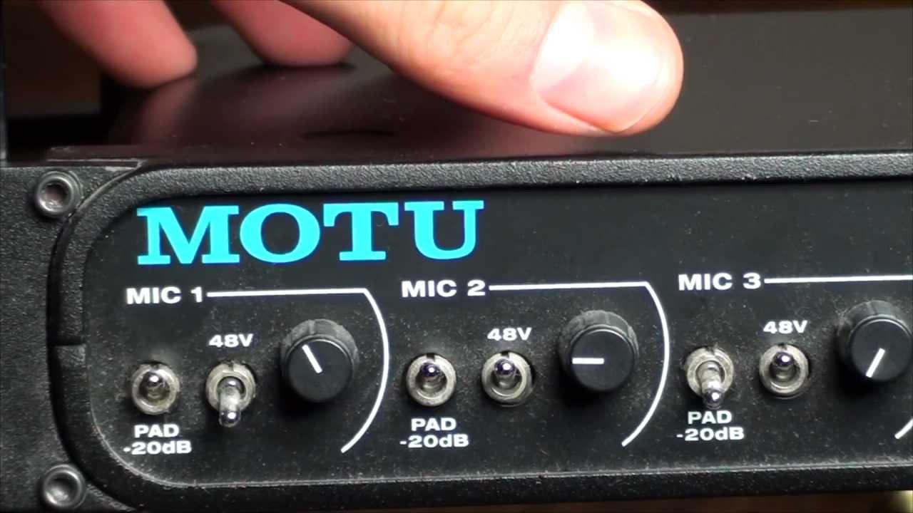 Motu 8 Pre Sound Card Interface