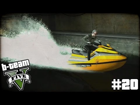 "B-TEAM GTA 5 Online Part 20 - ""THREE MAN RUB JOB!!!"" Grand Theft Auto V PC Gameplay"