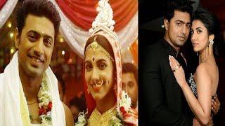 গোপনে বিয়ে করতে গিয়ে ধরা পড়লেন নায়ক দেব | Actor Dev | Rukmini Mitra | Bangla News Today