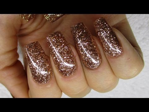 ♡ How to: All Glitter Gelnails