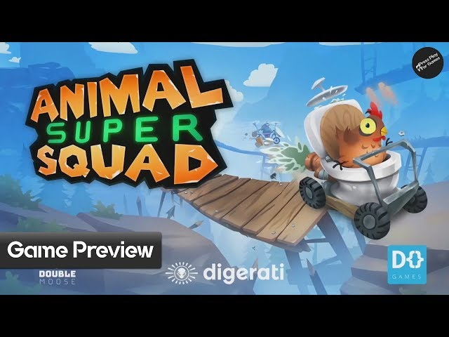 Animal Super Squad   Xbox One Gameplay