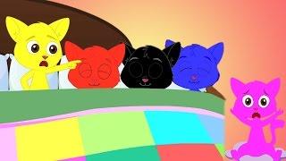 dez em rima cama | rimas infantis compilação | canções de ninar em português thumbnail
