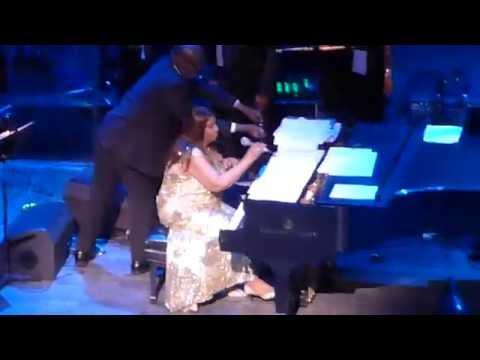 "Aretha Franklin ""Inseparable"" (Tribute To Natalie Cole & Muhammad Ali) NJPAC 6/16/16"