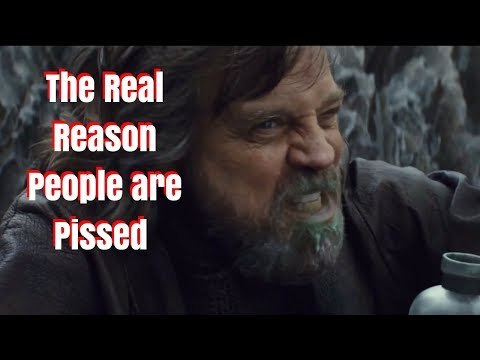 The Real Reason Why People Are Pissed at the Last Jedi