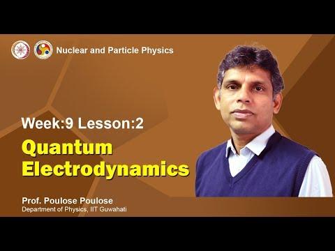 Mod-09 Lec-29 Quantum Electrodynamics