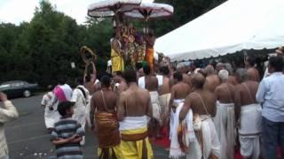 Sri Ranganatha Temple Pomona NY 2009 Grand Brahmotsavam Sri GarudaSeva