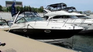 2012 Monterey 300 Sport Cruiser Motor Boat - Exterior/Interior - 2012 Montreal In-Water Boat Show