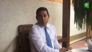 Un día en la vida del presidente Jimmy Morales