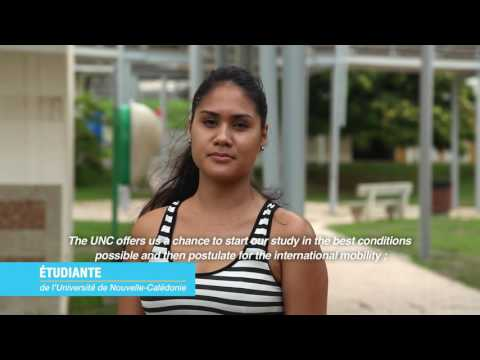 University of New Caledonia - presentation movie