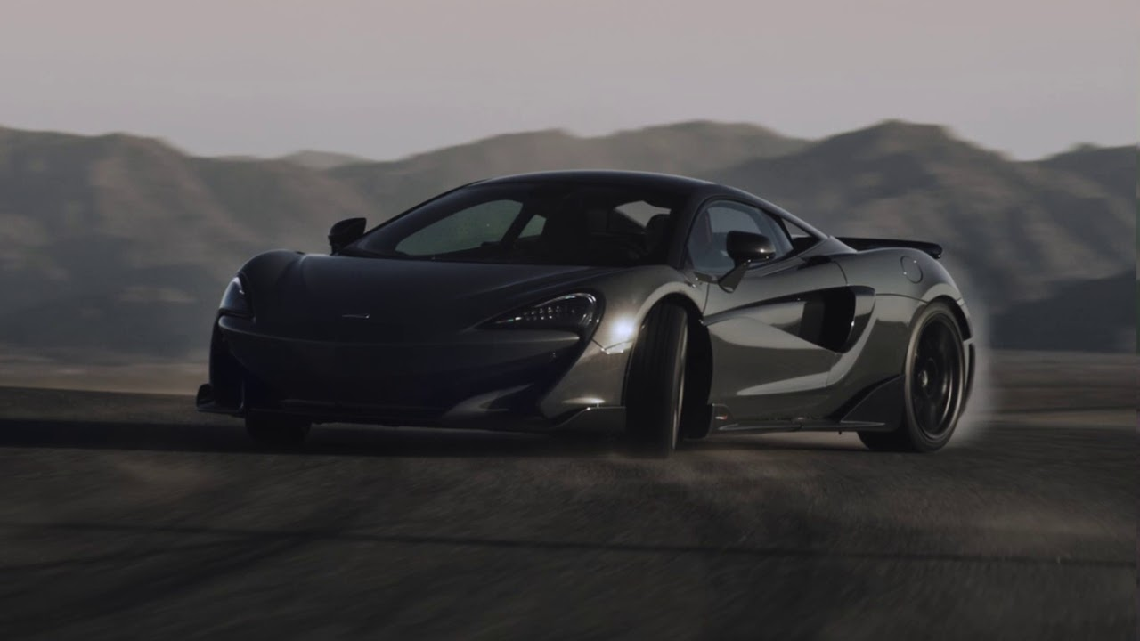 mclaren 600lt launches with deadly cool