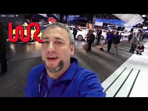2017 North American International Auto Show - WR TV VLOG