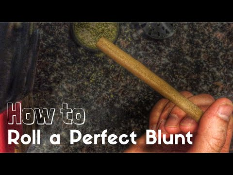 how to hold a blunt properly