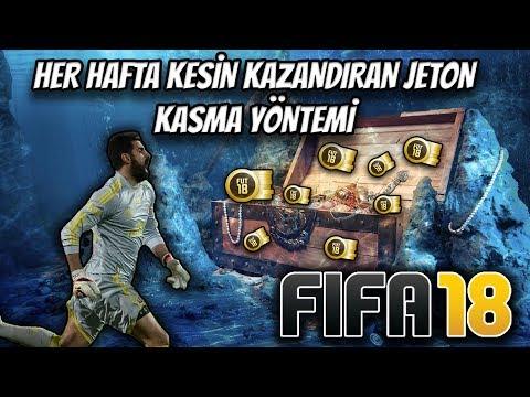 FIFA 18 HER HAFTA KESİN KAZANDIRAN JETON KASMA YÖNTEMİ   COİN KASMA   PARA KASMA