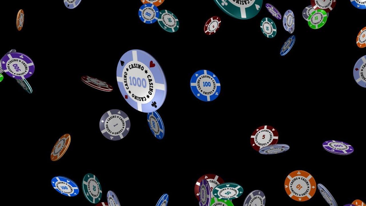 Falling Money 3d Wallpaper Casino Chips Falling Flying Exploding 5 Royalty Free
