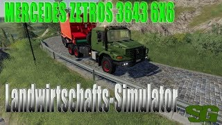 "[""Farming"", ""Simulator"", ""LS19"", ""Modvorstellung"", ""Landwirtschafts-Simulator"", ""MERCEDES ZETROS 3643 6X6"", ""MERCEDES ZETROS"", ""LS19 Modvorstellung Landwirtschafts-Simulator :MERCEDES ZETROS 3643 6X6"", ""LS19 Modvorstellung Landwirtschafts-Simulator :MERCE"