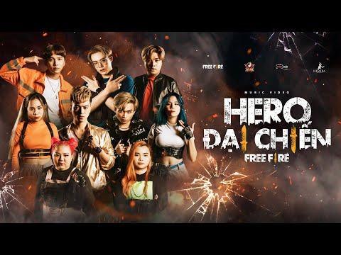 HERO ĐẠI CHIẾN FREE FIRE - Hero Team x QT Beatz | Official Music Video | Những bài hát hay nhất mọi thời đại 1