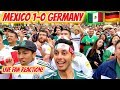 Mexico 1-0 Germany LIVE Reaction From Los Angeles! World Cup 2018