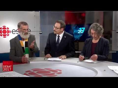 Débat des candidats à la mairie de Sherbrooke 2017 | Radio-Canada, 27 octobre 2017