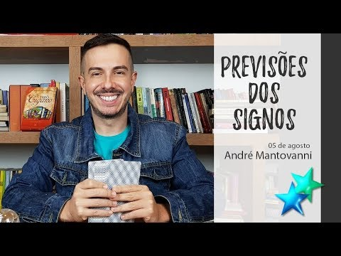 Horóscopo da Semana de 05/8 à 11/8 - André Mantovanni