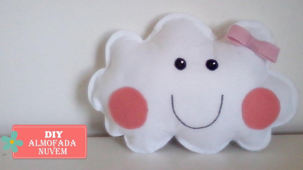 Conhecido DIY - Almofada Nuvem - Faça você mesmo - YouTube MN16