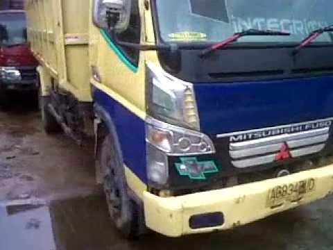Dijual Dump Truck PS 125 HD Canter 2008 Bak Jumbo Samarinda HP