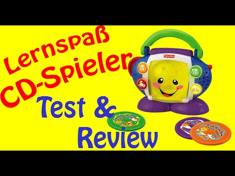 REVIEW LERNSPASS CD SPIELER FISHER-PRICE TEST