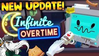 "Job Simulator VR Gameplay - ""NEW INFINITE OVERTIME UPDATE!!!"" - Let"