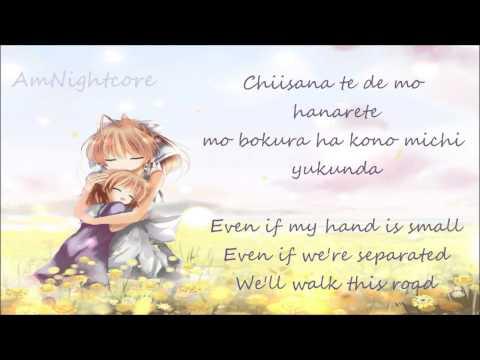 Nightcore  The Palm Of A Tiny Hand {Clannad, lyrics}