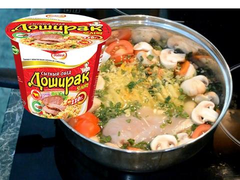 Супа из лапши